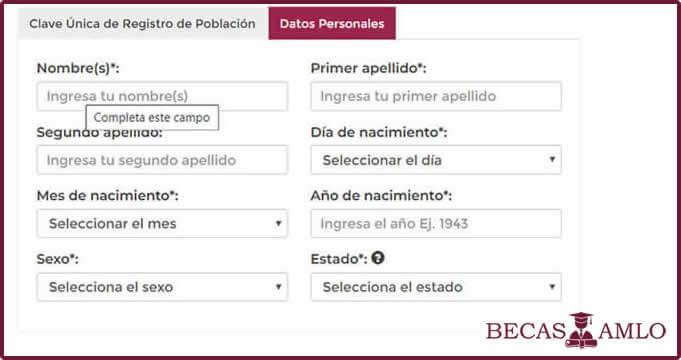 Cómo Obtener tu Clave Única de Registro de Población